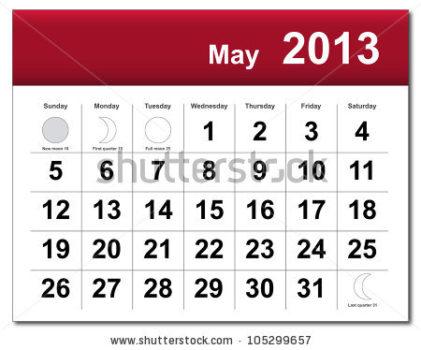 may 2013