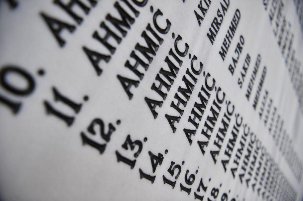 Tiha komemoracija za Ahmiće